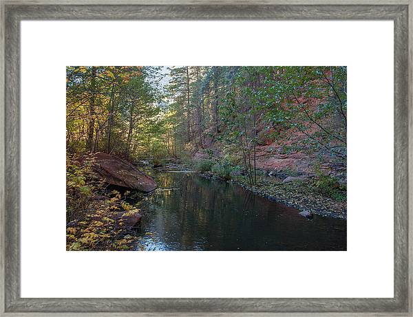 West Fork Framed Print