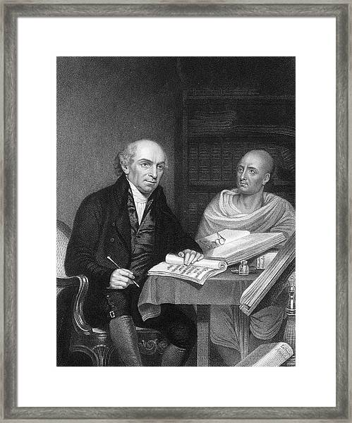 William Carey -  English Orientalist Framed Print by Mary Evans Picture Library