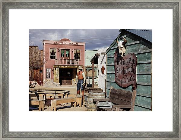 Williams, Arizona, United States Framed Print by Julien Mcroberts