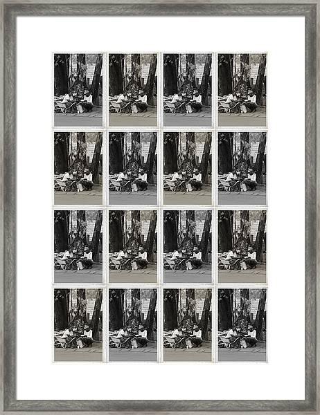 2 Women Framed Print by Jaqueline Briel