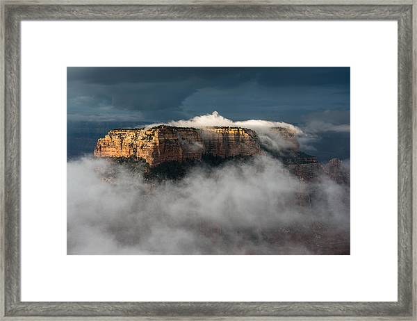 Wotans Throne Framed Print