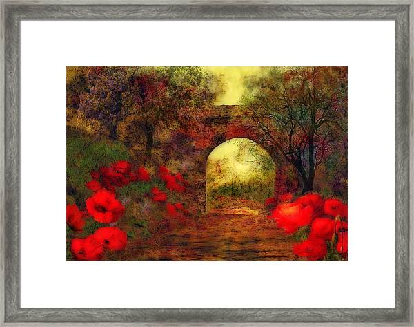 Ye Olde Railway Bridge Framed Print