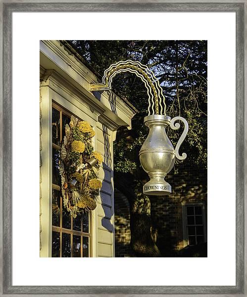 Colonial Williamsburg Framed Print
