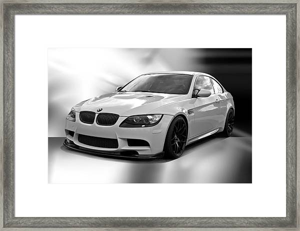 2008 Bmw M3 Coupe II Framed Print