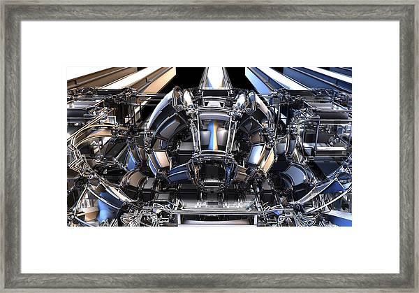 2012 Model Time Machine Framed Print