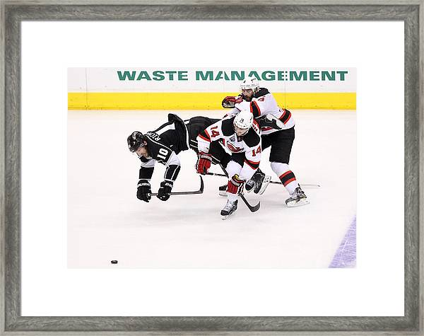 2012 Nhl Stanley Cup Final – Game Four Framed Print by Christian Petersen
