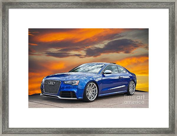 2013 Audi Rs5 Sports Coupe Framed Print