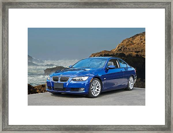2013 Bmw 328i Sports Coupe Framed Print