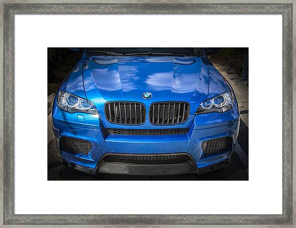 2013 Bmw X6 M Series Framed Print