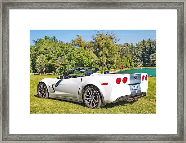 2013 Corvette 427 Sixtieth Anniversary Special Framed Print