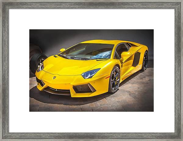 2013 Lamborghini Adventador Lp 700 4 Framed Print