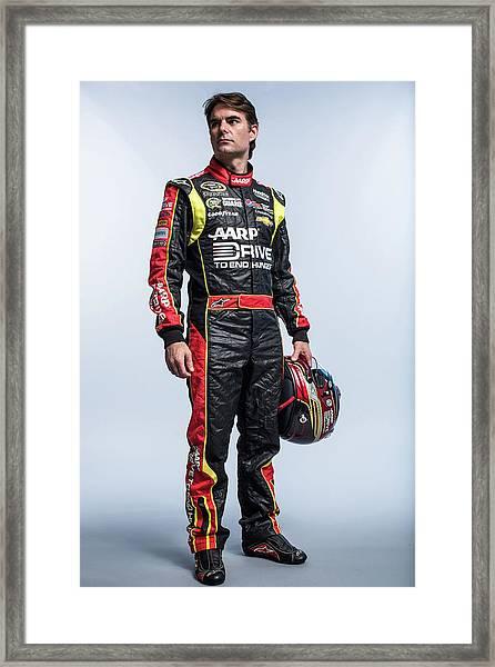 2013 Nascar Sprint Cup Series Stylized Framed Print by Nick Laham