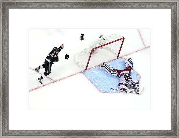 2014 Nhl Stanley Cup Final - Game Five Framed Print