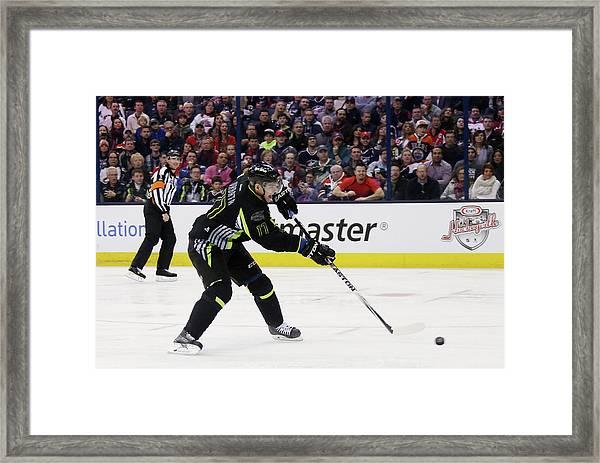 2015 Honda Nhl All-star Game Framed Print by Bruce Bennett