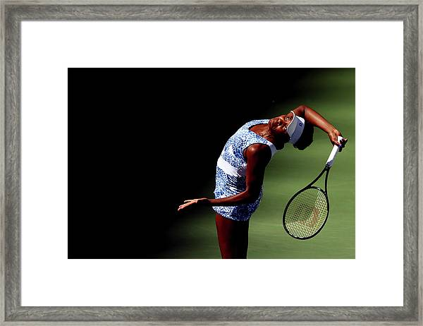 2015 U.s. Open - Day 7 Framed Print