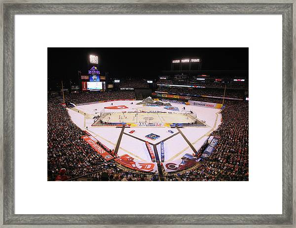 2016 Coors Light Stadium Series - Framed Print by Justin Edmonds