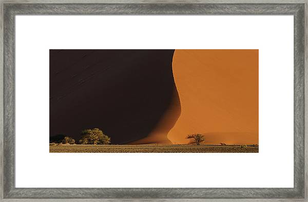 2017.06 - Essence Of Sossusvlei Framed Print