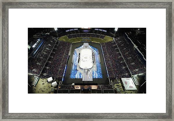 2018 Coors Light Nhl Stadium Series - Framed Print by Nicole Abbett