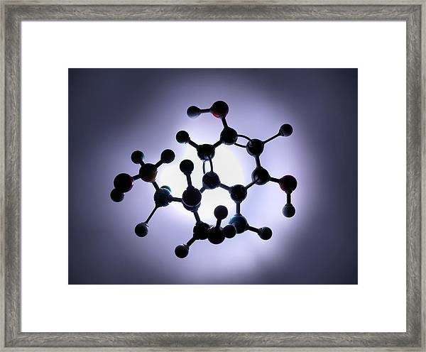 Molecular Model Framed Print