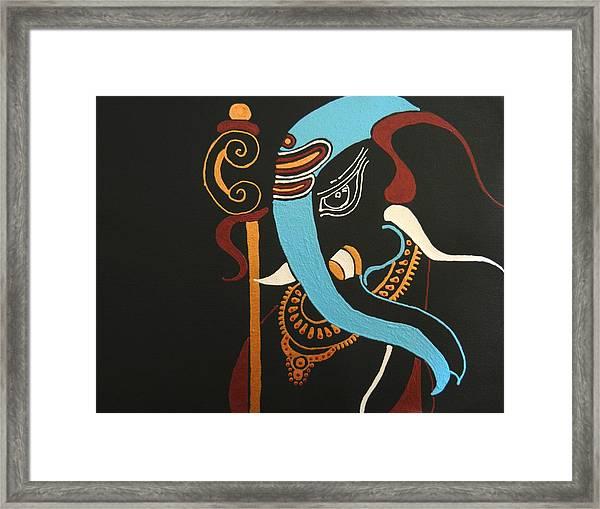 21 Mrityunjaya Ganesh Framed Print