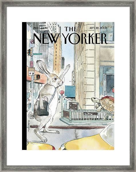 New Yorker September 22nd, 2008 Framed Print by Barry Blitt