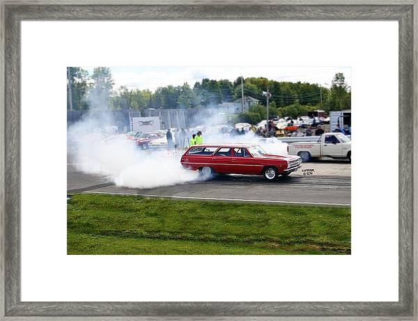 Esta Safety Park 09-14-14 Framed Print by Vicki Hopper