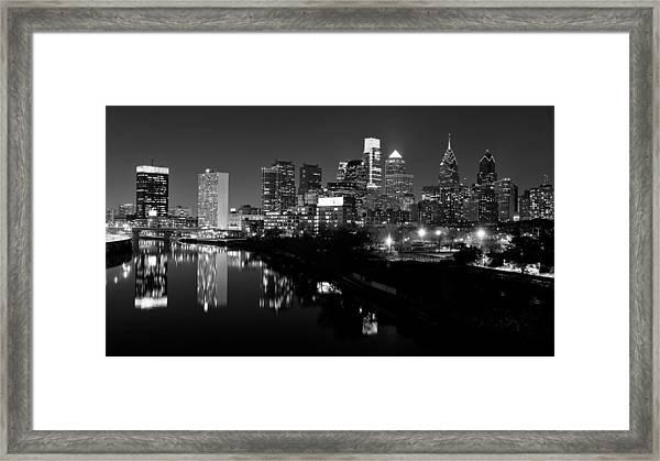 23 Th Street Bridge Philadelphia Framed Print