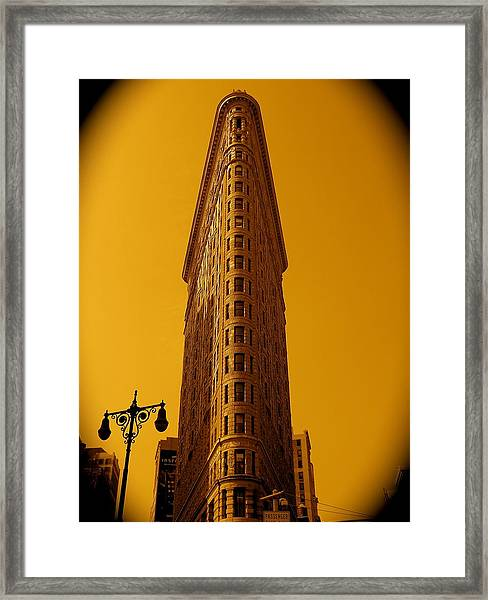 23rd Street And Broadway Framed Print