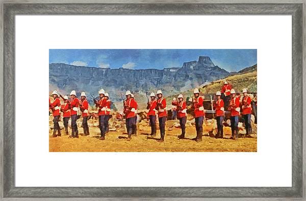 24th Regiment Of Foot - En Garde Framed Print