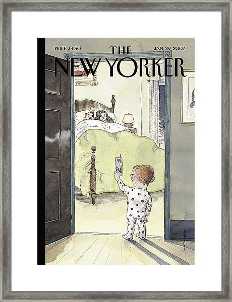 New Yorker January 29th, 2007 Framed Print by Barry Blitt