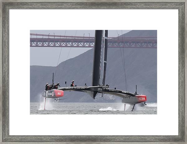 America's Cup 34 Framed Print