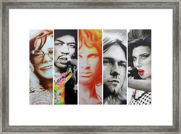 27 Eternal Framed Print