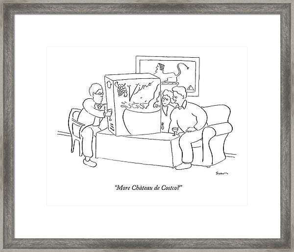 More Chateau De Costco? Framed Print