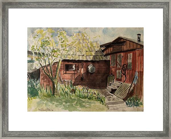 A Shanty Called Home Framed Print
