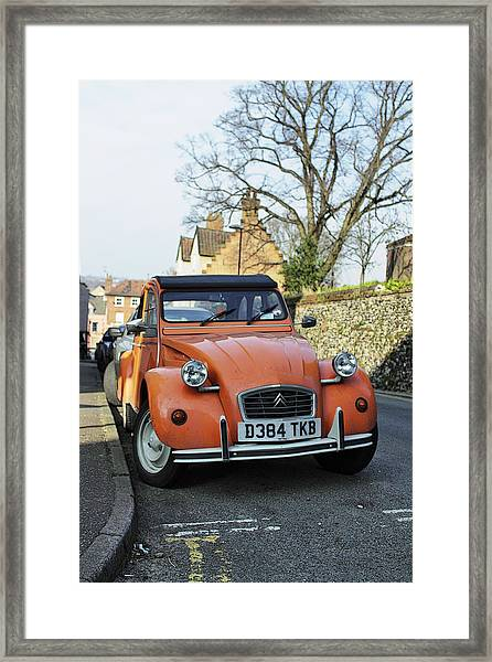 2cv Norwich Framed Print