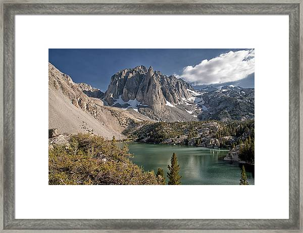 2nd Lake And Temple Crag Framed Print