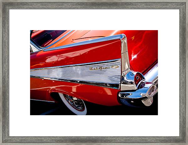 1957 Chevy Bel Air Custom Hot Rod Framed Print