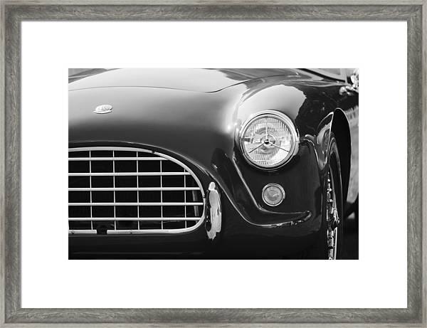 1959  Ac Ace Bristol Grille Framed Print