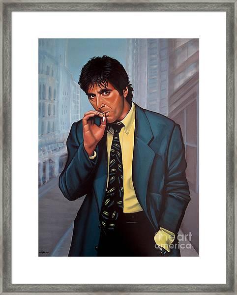 Al Pacino 2 Framed Print