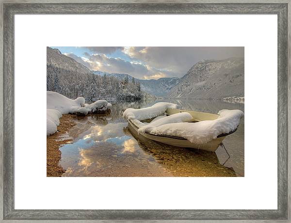 Alpine Clarity Framed Print by Ian Middleton