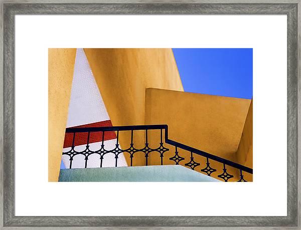 Architectural Detail Framed Print