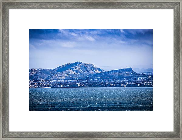 Arthur's Seat Framed Print by Michael Schofield