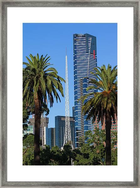 Australia, Victoria, Melbourne Framed Print by Walter Bibikow