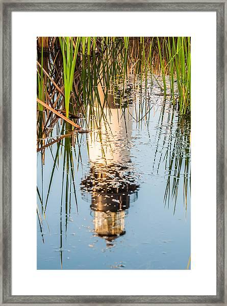 Bodie Island Lighthouse Obx Cape Hatteras North Carolina Framed Print