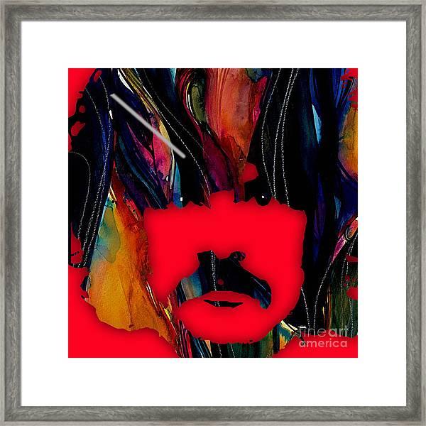 Burton Cummings Collection Framed Print