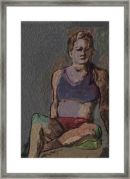 Day Dream Framed Print by Noredin Morgan