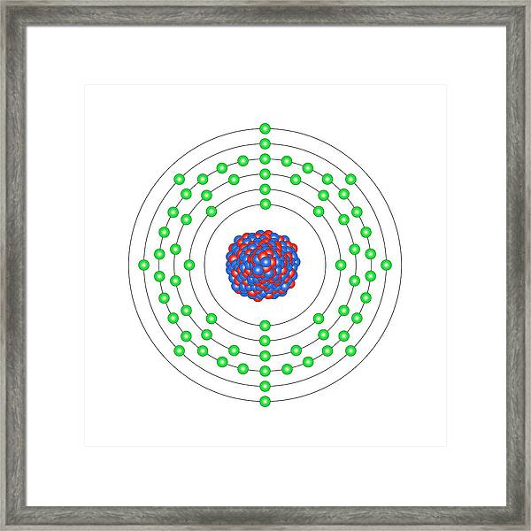 Erbium Framed Print by Science Photo Library