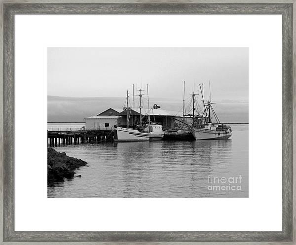 3 Fishing Boats Framed Print