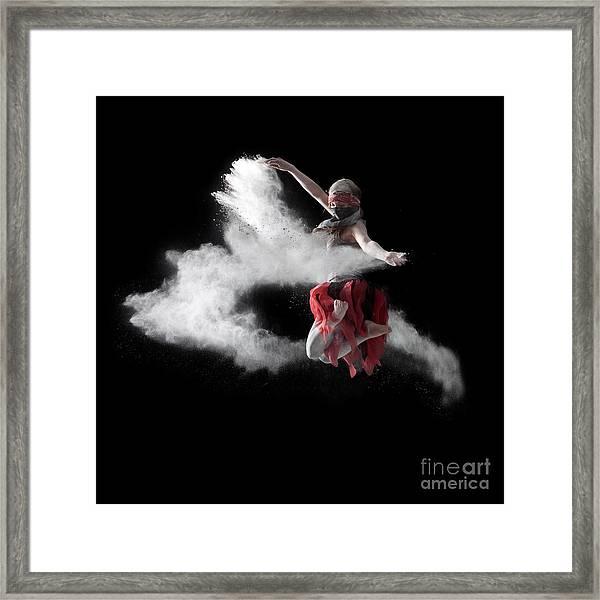 Flour Dancer Series Framed Print
