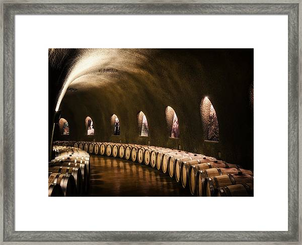 Fruits Of The Vine Framed Print